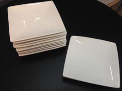 6inch square plate @ $6