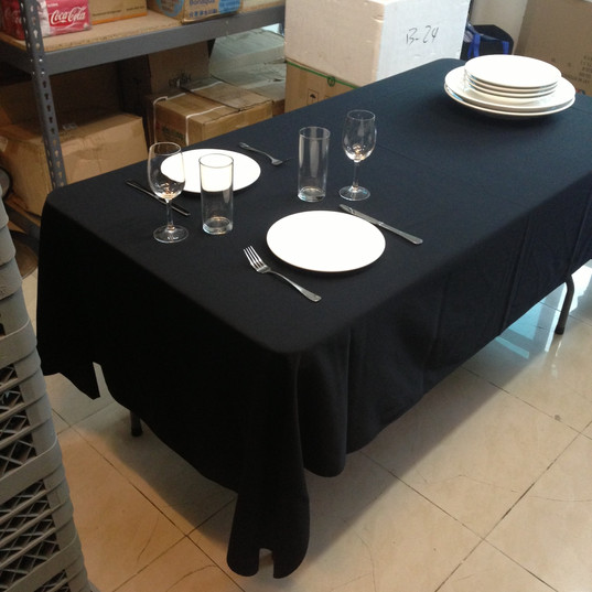 Table with Black Cloth.JPG