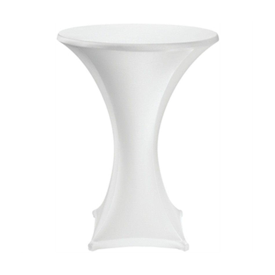 High Table with White Cloth