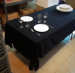 Sample table set-up