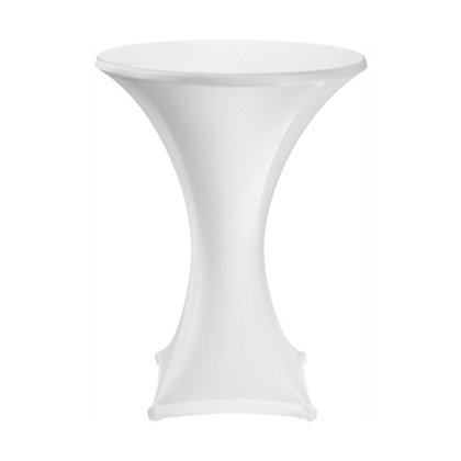 High Table with Black/ White Cloth