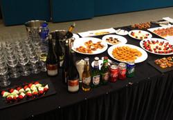 Full beverage set-up
