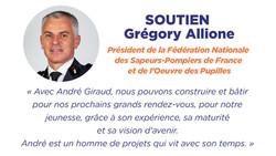 Soutien Grégory Allione