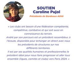 Soutien Caroline Pujol