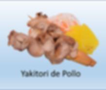Yakitori de Pollo