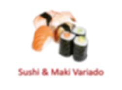 Sushi & Maki variado