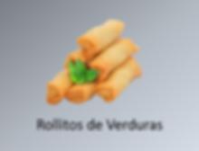 Rollitos de verduras