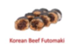 Korean Beef Futomaki