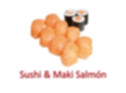 sushi & Maki Salmón