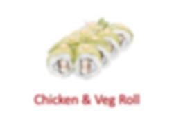 Chicken & Veg Roll