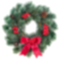 Christmas Wreath Red