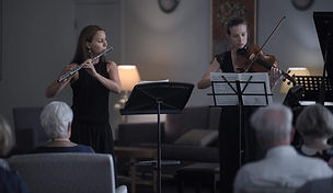 Monika Koerner and Elizabeth Lawrence, French chamber music, Brisbane 2019