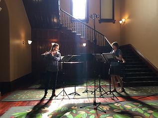 Ensemble Trivium with Nicholas Harmsen, clarinet/ April 2017