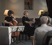 Eleanore Streatfeild and Brieley, French chamber music, Brisbane 2019