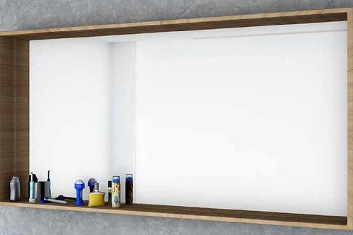 דור רפאל | מסגרת מדף מלבנית, בוצ'ר מראה לאמבטיה