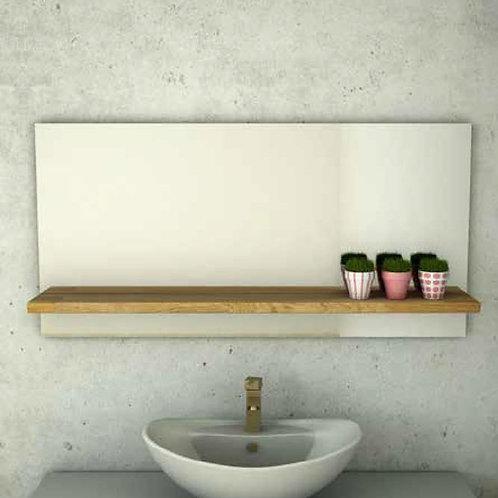 דור רפאל | מדף מלבנית מראה לאמבטיה