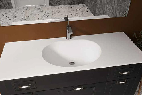 דור רפאל | משטח עם כיור אמבטיה אקרילי תמיר