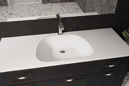 דור רפאל | משטח עם כיור אמבטיה אקרילי נרקיס