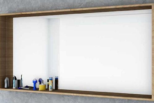 דור רפאל | מסגרת מדף מלבנית, פורניר מראה לאמבטיה