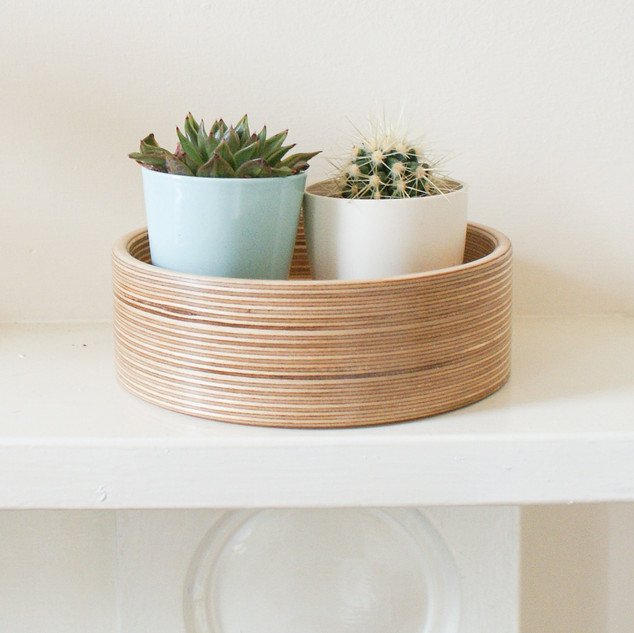 A gorgeous little Birch Plywood bowl that was made from the remnants of a larger project