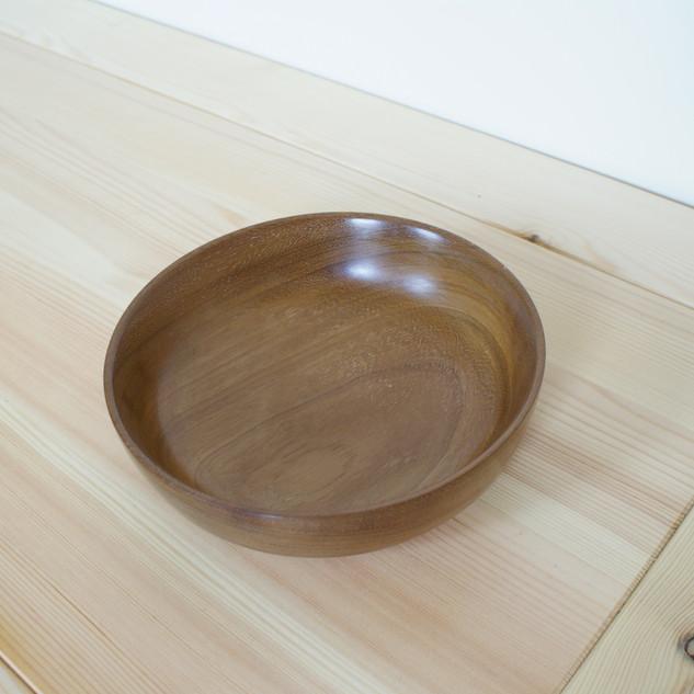 A beautiful big Teak bowl