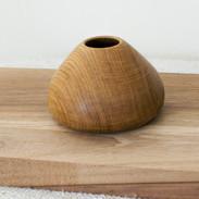 A small Oak Vessel with gorgeous grain details