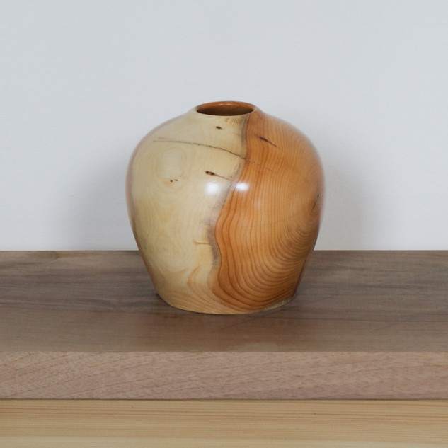 YewThis Yew Vessel was made from a yew tree that was felled here in Scotland