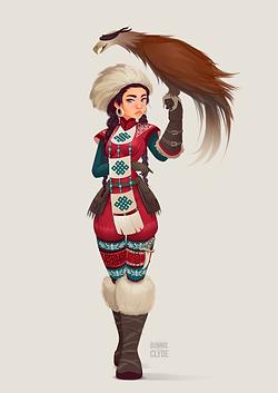 Mongolian Eagle Hunter.png