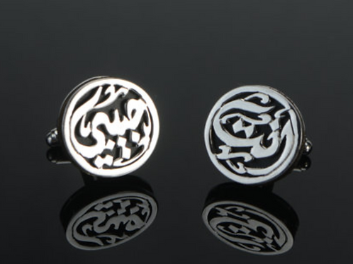 Custom 925 Sterling Silver Cufflinks