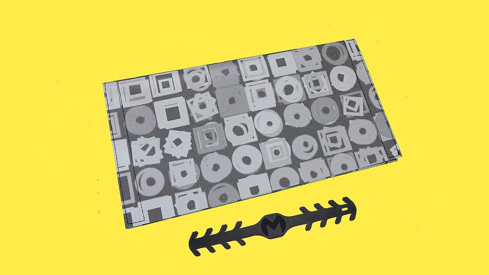 """Combo Bag """"Frames"""" und Clip – Aufbewahrungsbag und Clip"""