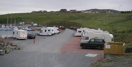 Shetland caravan park |  13 piBratch caravan park in Brae Shetland