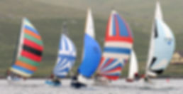 Shetland Sailing at Delting Boating Club Marina