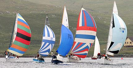 Shetland Sailing at Delting Boating Club Marina