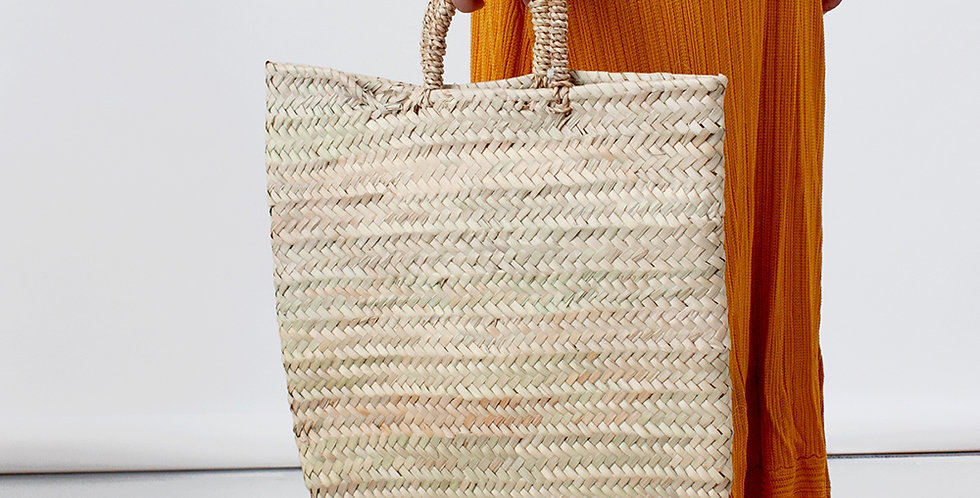 Bohemian Basket Shopper
