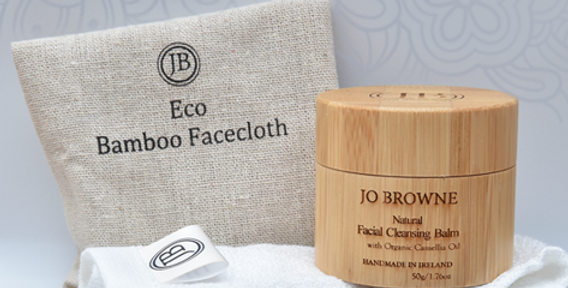 Organic Bamboo Facecloth by Jo Browne