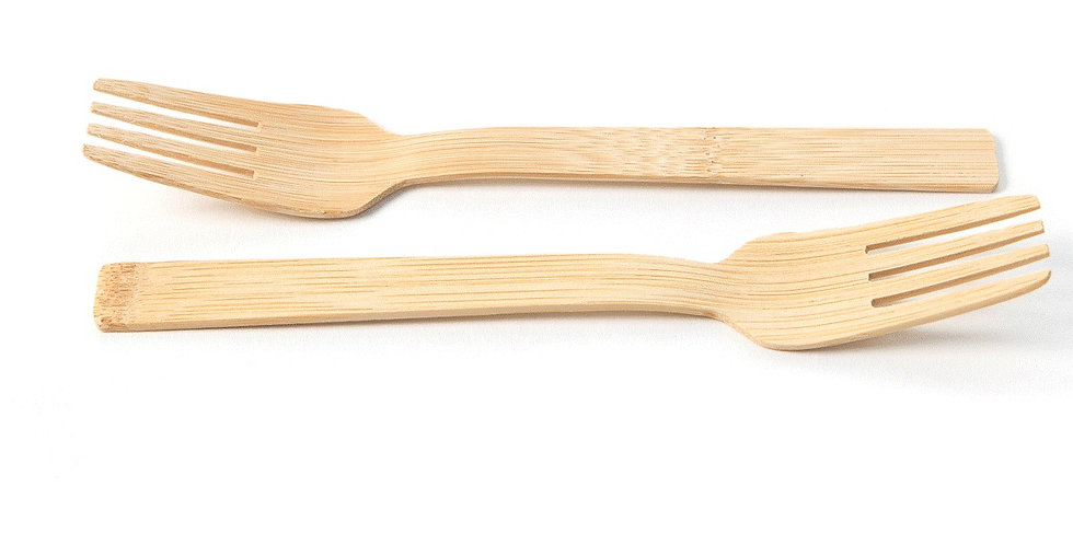 Bamboo Forks - Pack of 100