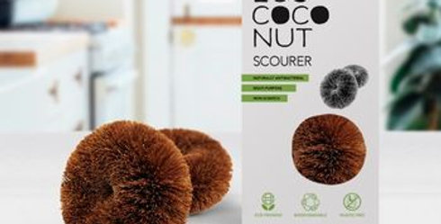EcoCoconut Scourers - Pack of 2