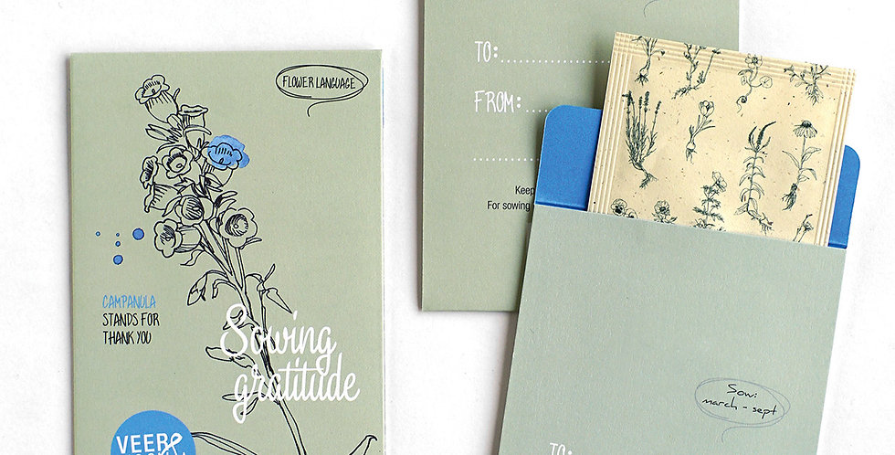 Sowing Gratitude (Campanula Seeds)
