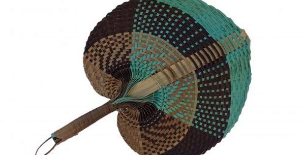 Natural Fan Tricolor