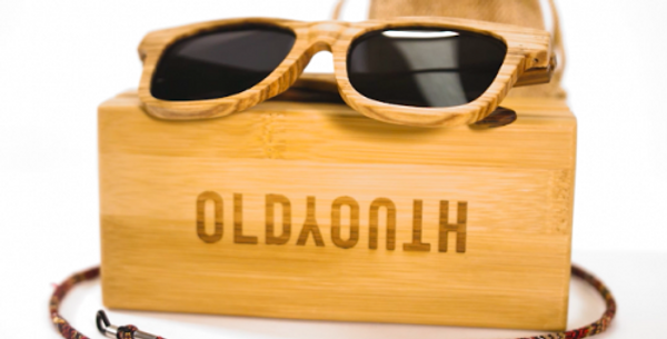 Zebra Wood Sunglasses - 10 trees planted for every sale.