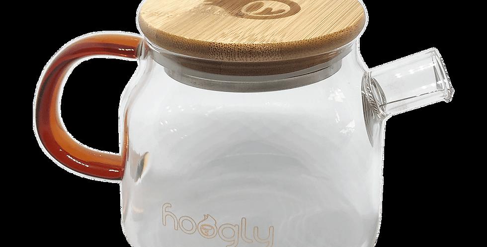 Hoogly Tea Glass teapot 600ml
