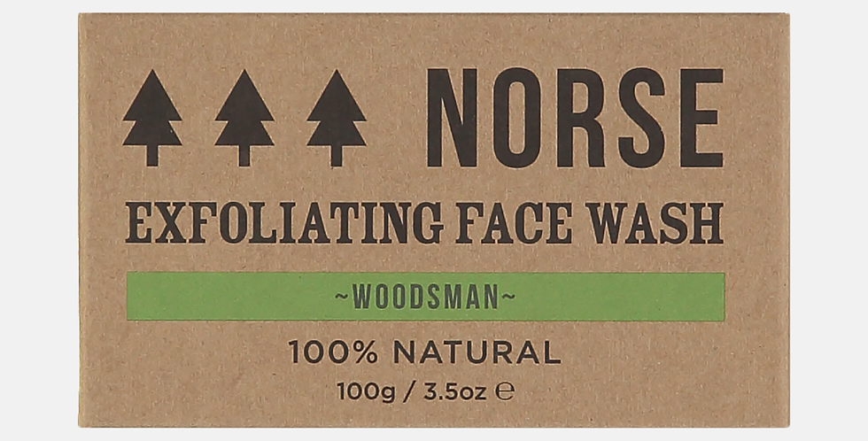 Exfoliating Face Wash - Woodsman