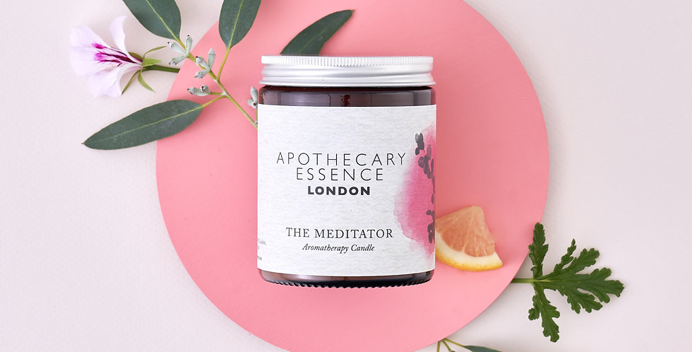 The Meditator Candle - Essential Oils and Plastic Free