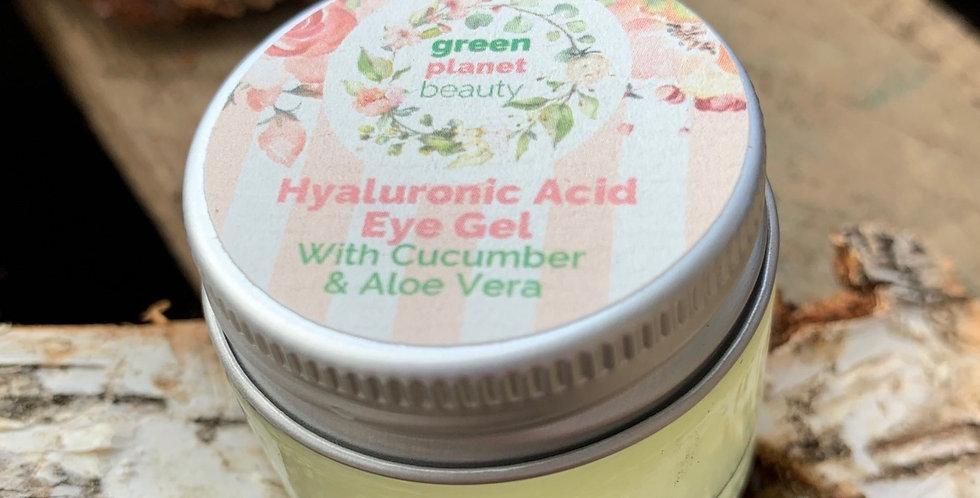 Eye Gel - Hyaluronic acid, cucumber and aloe vera 15 ml