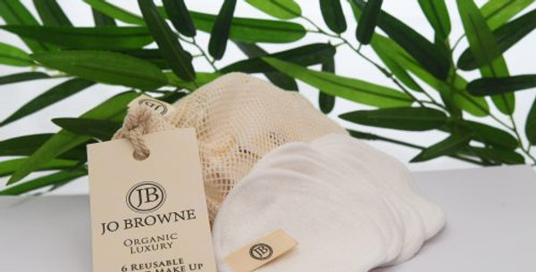 Bamboo Make up remover Pads by Jo Browne