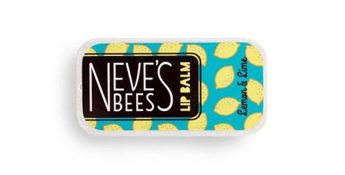 Neve's Bees Lemon & Lime Beeswax Lip Balm – 7g slider tin