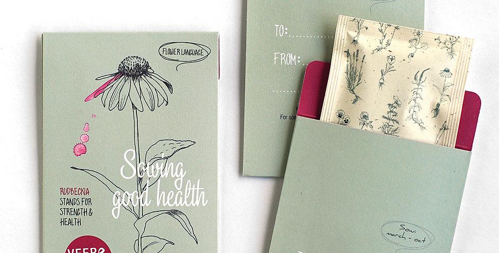 Sowing Good Health (Rudbeckia Seeds)