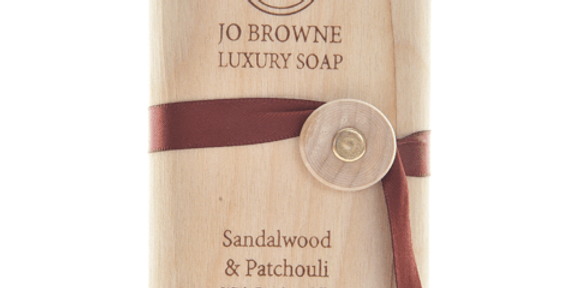 Soap with Bamboo Silk Sandalwood & Earthy Patchoulli by Jo Browne