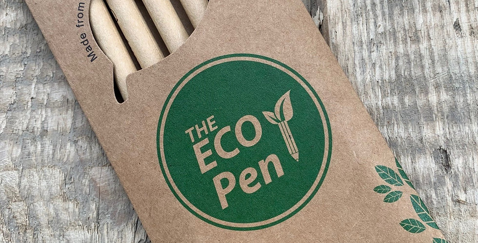 Eco Pens Plantable - Pack of 6 (Blue Ink)