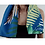Thumbnail: Tropicana Placement Indigo Microfibre Towel